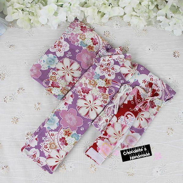 Japanese robe traditional KIMONO set for bjd asian floral print flower purple white pink red sakura rose msd 1/4 SD 1/3 yosd 1/6 yukata by ChocolateHandmade on Etsy https://www.etsy.com/listing/529129142/japanese-robe-traditional-kimono-set-for