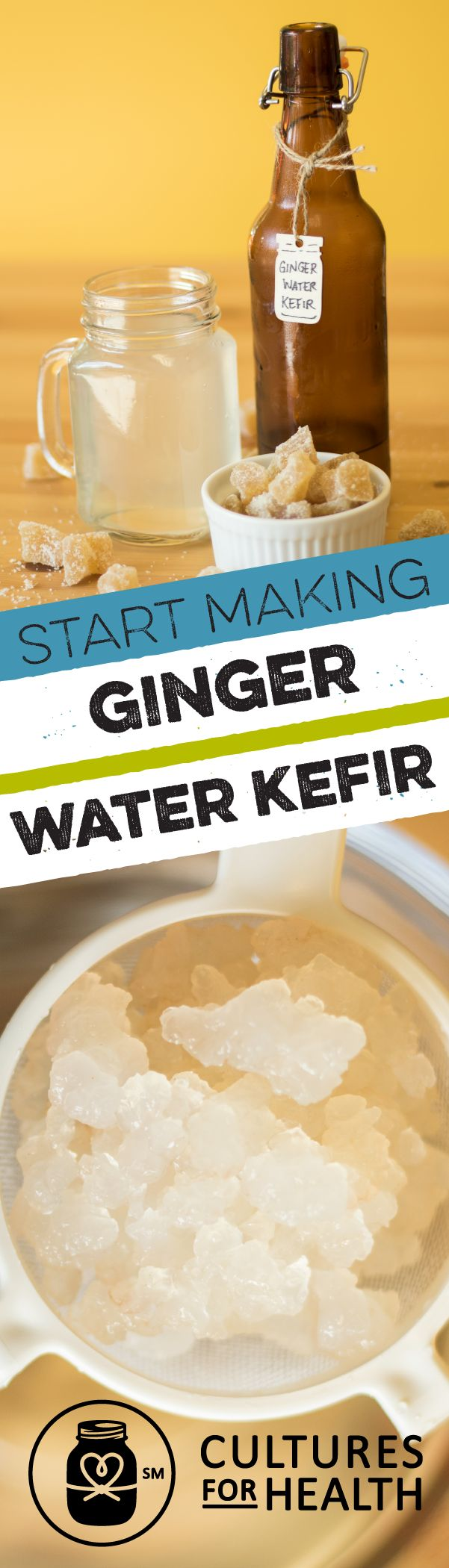 In just a few minutes each day you can prepare a sweet, fermented drink that will tickle your taste buds and make your gut happy. This kits includes our heirloom Water Kefir Grains that will last forever (with the right care) plus flavorings and supplies for bottling your water kefir. Just add kitchen staples.