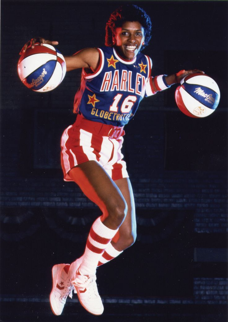 Happy Birthday: Lynette Woodard  August 12, 1959 - Lynette Woodard is a retired American basketball player. The first female member of the Harlem Globetrotters, Lynette Woodard was a gifted basketball player who was a four-time All-American at the University of Kansas from 1978 to 1981. Woodard was a member of the US women's basketball team that won the gold medal at the 1984 Summer Olympics in Los Angeles. From 1997 to 1998, Woodard played for the Cleveland Rockers and Detroit Shock.