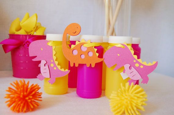 Dinosaur Party for Girls by http://pinwheellane.etsy.com