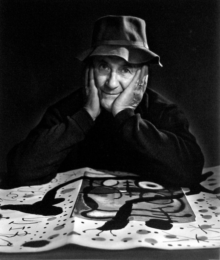 Miró  |  Photo: Yousuf Karsh
