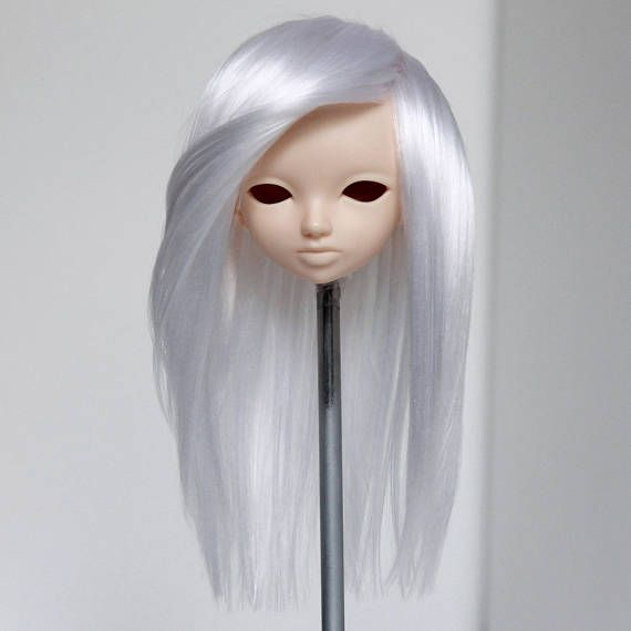 Minifee fairyland mnf wig white no bang straight handmade