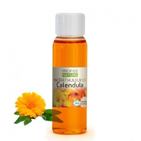 Une des huiles les plus recommandées pour les soins des peaux sensibles et irritées. Le macérât de calendula, riche en flavonoides et alcools triterpèniques associés aux oméga 6 de l'huile de tournesol, est apaisant et purifiant. Il aide à régénérer l'épiderme agressé et est parfait pour les soins des peaux abimées, couperosées et fragiles. Il revitalise, assouplit, protège et nourrit la peau en profondeur.