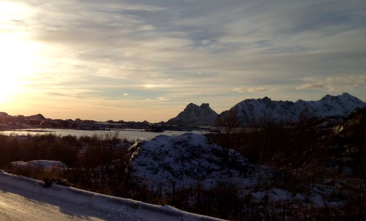 Novembersol over Ureberget