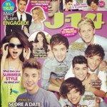 An #Instagram sneak peek at the August 2012 issue of #J14Magazine with #OneDirection #JustinBieber #SelenaGomez #LiamHemsworth #MileyCyrus #TaylorLautner #CodySimpson #HarryStyles #Zendaya.