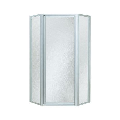 Intrigue 72 Quot X 27 56 Quot Neo Angle Shower Door With Moraine
