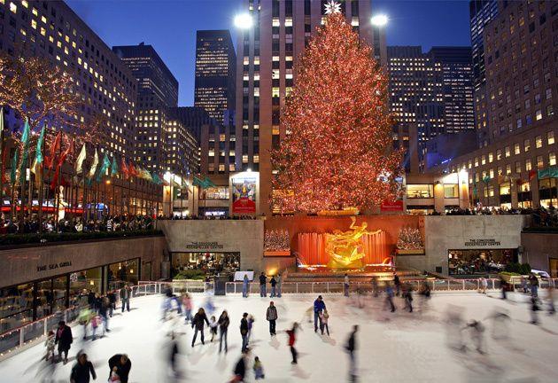 Doce formas muy románticas de pasar la Navidad en Nueva York