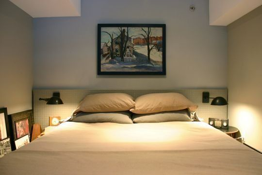 Before & After: Mike Murphy's IKEA Headboard Redo   Apartment Therapy