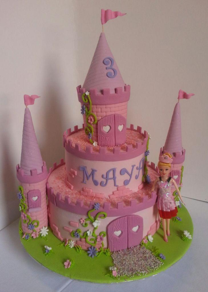 299 best Birthday cakes for girls images on Pinterest Birthday