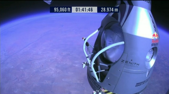 Red Bull Stratos Capsule View