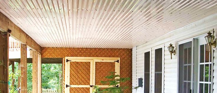 Corrugated Roofing Under Deck Corrugated Roofing
