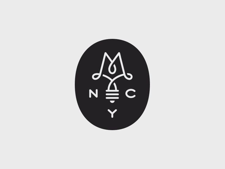Early logo idea for a New York lighting company