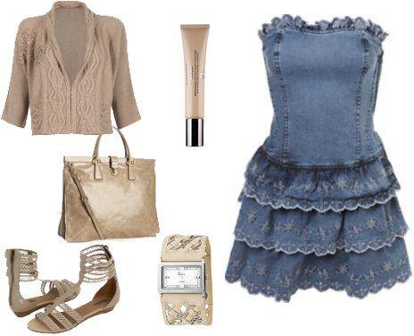 vestidos-jeans-moda-verao-2013-looks.jpg (464×376)