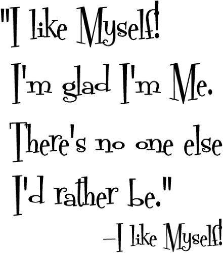 LUBIĘ SIEBIE! :) Jestem dumna z tego, że jestem sobą!