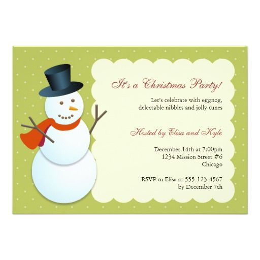 335 best images about Snowman and Winter birthday theme on – Pole Party Invitations