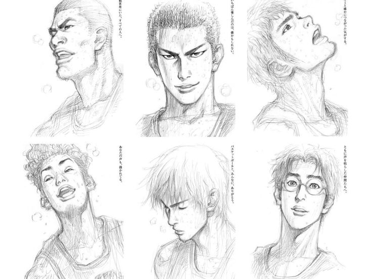 SLAM DUNK sketch by INOUE TAKEHIKO
