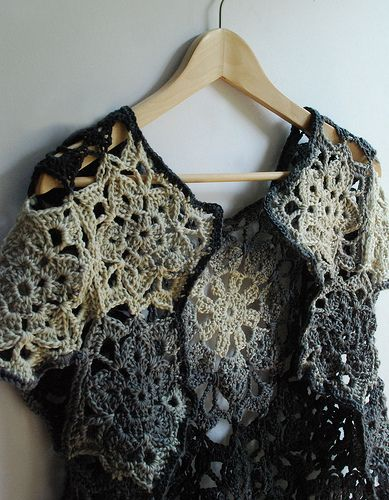 crochet cardigan   magnificent colours