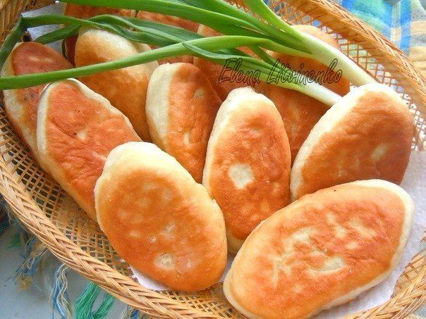 шеф-повар Одноклассники: Жареные пирожки с курицей и грибами