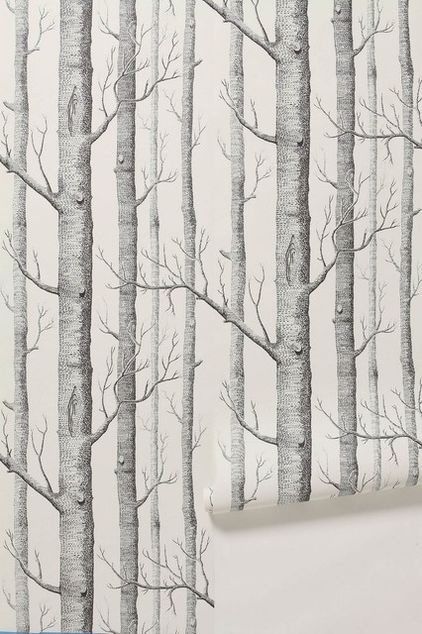 Best Eclectic Wallpaper By Anthropologie Birch Tree Wallpaper 640 x 480