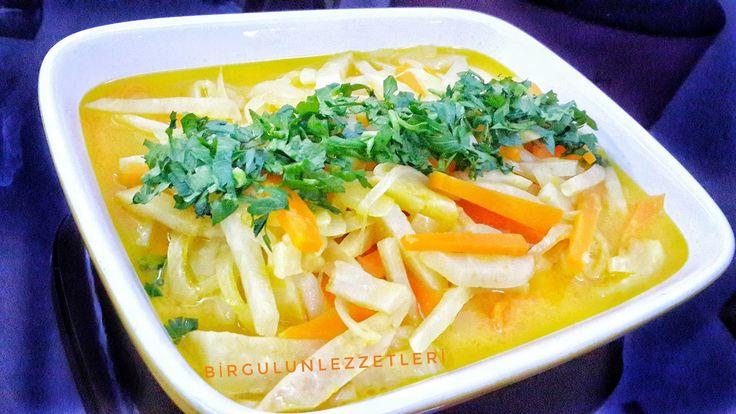 zeytinyağlı kereviz,mandalinalı kereviz nasıl yapılır, kış sebzeleri,zeytinyağlı yemekler, havuçlu kereviz,