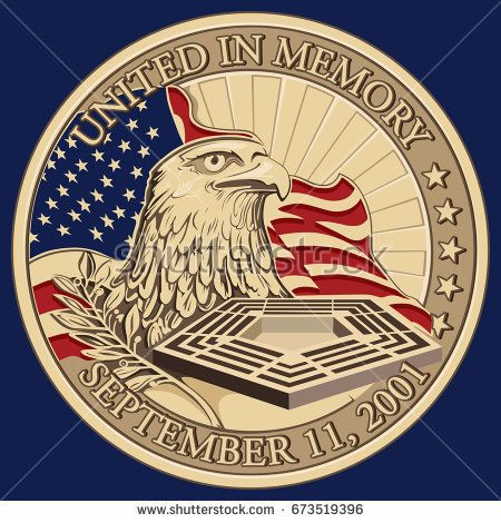 United in Memory, September 11, 2001 Coin