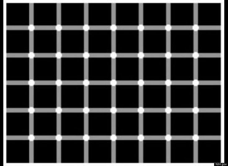 自分の脳のアルファ波がわかる錯視画像