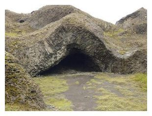 UNEXPLAINED: Iceland's government protects reputed elf dwellings like this one.