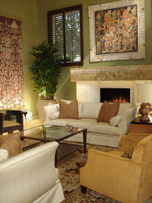 Nice This Eclectic Living Room Features A Collection Of Asian, African And  Indian Pieces. The Furnishings In The Space Are Warm, Comfortable And  Uniquely ...