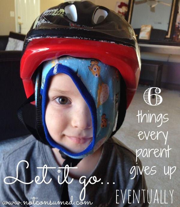 You know those perfect dreams you had of being a parent? I had them, too. Yet a little over a decade after becoming a parent, I've learned that just about everything I thought would make me a perfect parent has been thrown out the window. Yep, it's time to let it go, my friends!