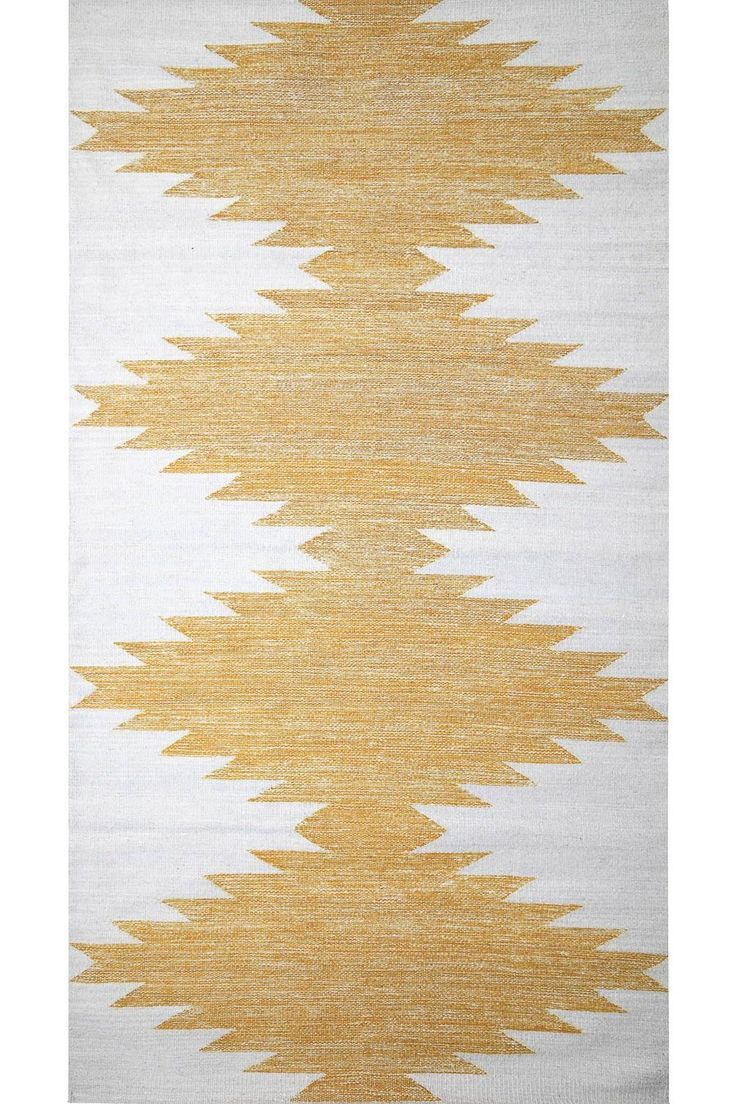 Oaxaca Rug Ocher Coutume Workshop Coutume Wool Centralamerica Mexico Handmade Handwoven Moral Crafts Fabricshunting Texti Rugs Weaving Hand Weaving