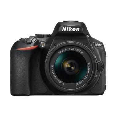 Jual Rp 9,399,000 Nikon D5600 Kit 18-55mm VR Kamera DLSR - Hitam (Distrbutor)