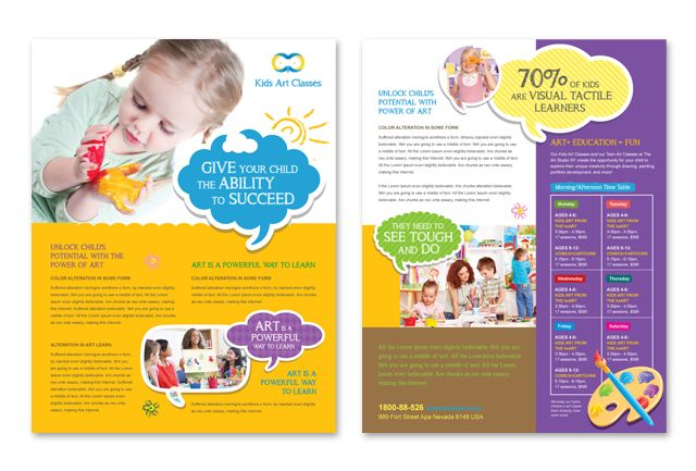 1000 images about kids brochures inspiration on pinterest for Brochure template for kids