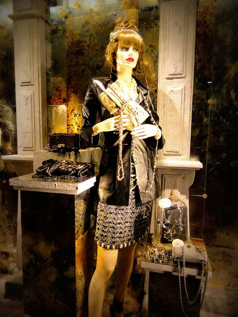 Chanel Fall Window Display