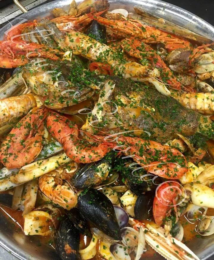 Zuppa di pesce - ristorante Al Cuoco di Bordo - Milano