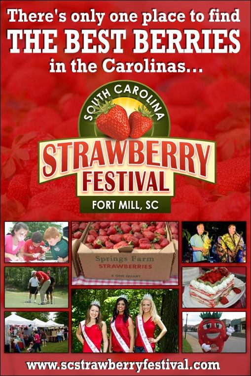South Carolina Strawberry Festival - Fort Mill, SC                                                                                                                                                     More