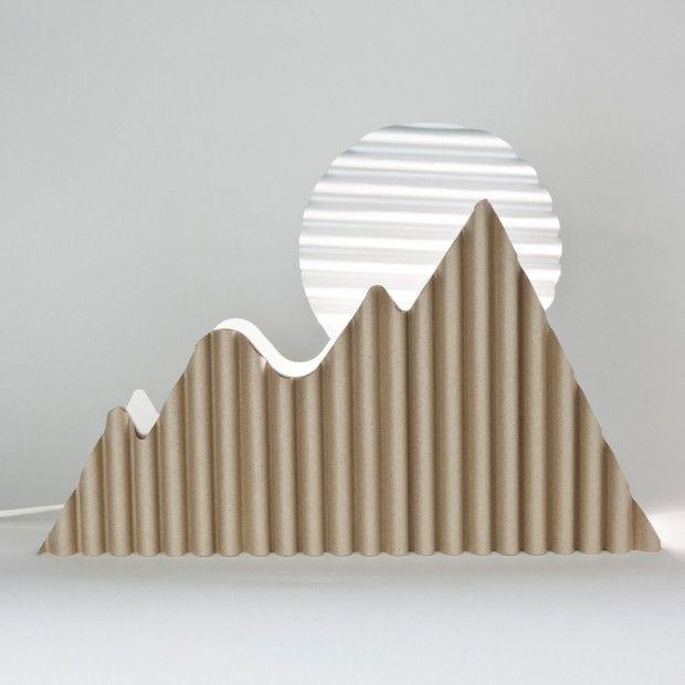 Les 20 meilleures id es de la cat gorie carton ondul sur for Architecture qui se fond dans le paysage
