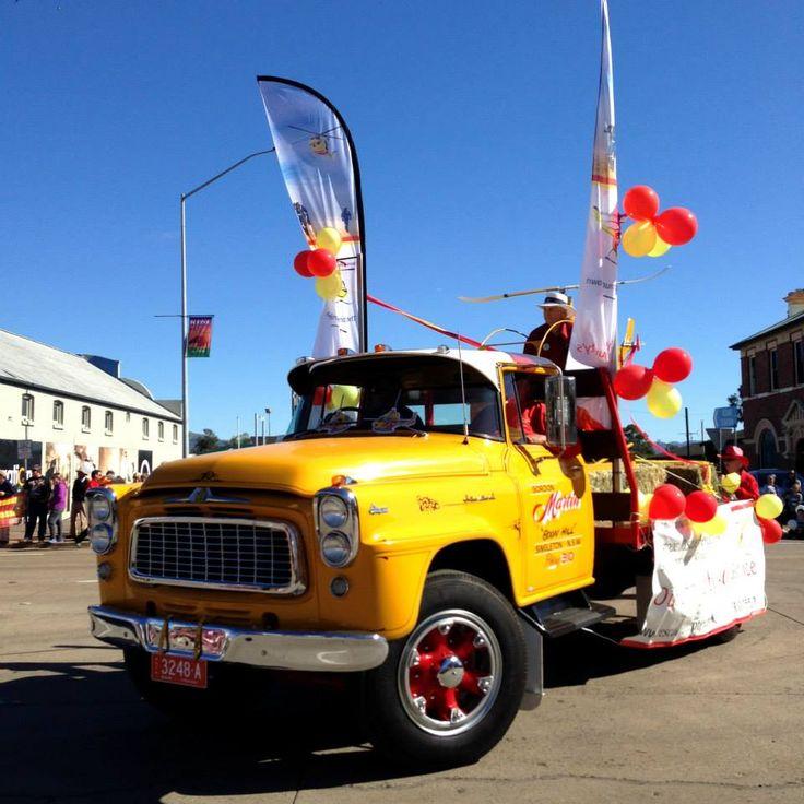 Westpac 2015 Scone Horse Festival Parade
