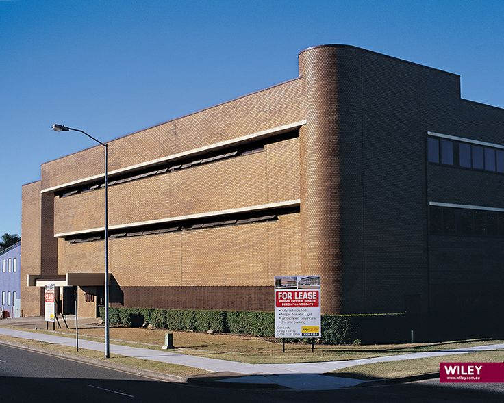 This is what the Wiley building looked like when purchased, prior to refurbishment. #wiley
