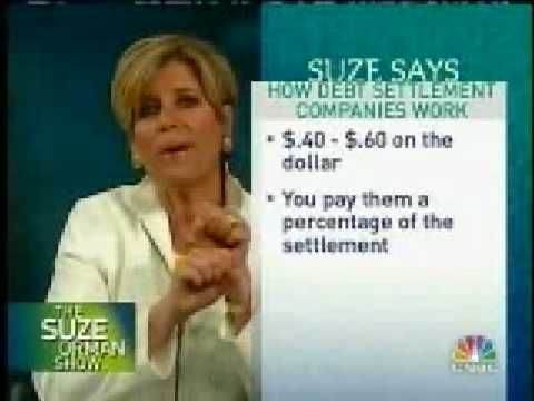 Suze Orman gives excellent tips on how to settle up with credit card companies. Ms. Orman is NOT affiliated with PaydayLoansMonkey.com - she works as a financial broadcaster for CNBC (and as a best-selling author) - but we thought her advice here was helpful, so we uploaded the video to our channel. For more tips on how to get payday loans online, check out the main site, http://PaydayLoansMonkey.com. Thanks!