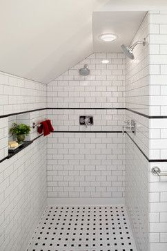 2b9295aaf53a189e07eab79e2bb9d2a3 black and white shower tile black and white bathroom ideas 25144