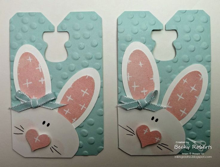 Chalk Talk Bunny Tags (via Bloglovin.com )
