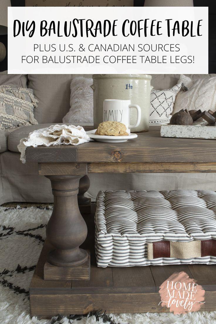 Diy Balustrade Coffee Table Where To Get Balustrades Diy