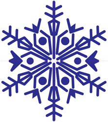 copo de nieve Illustrator 7