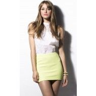 Minifalda de Granito http://aldetal.net/ebazar