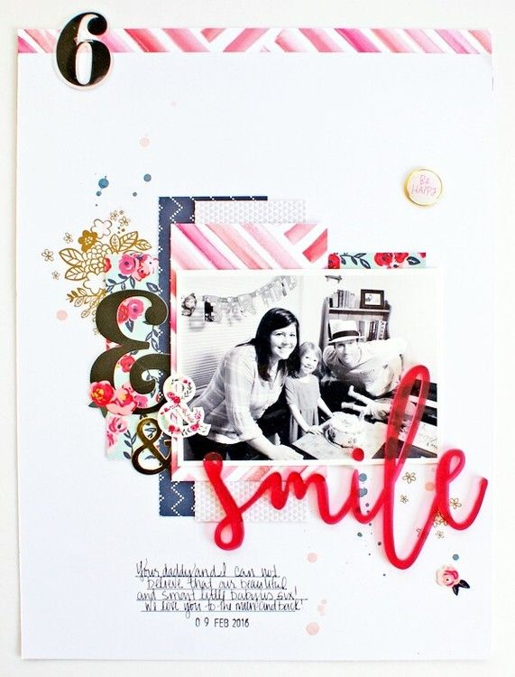 Smile by MichelleWedertz at @studio_calico