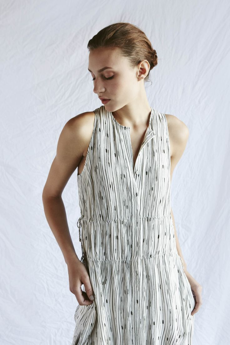 The fine print of our Witt Dress.