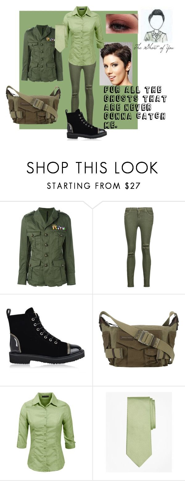 The Ghost of You-My Chemical Romance by saleonsea on Polyvore featuring Dsquared2, Current/Elliott, Giuseppe Zanotti and Brooks Brothers