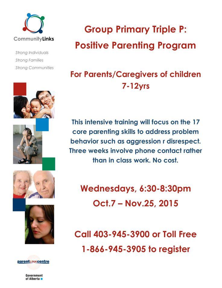 Group Primary Triple P: Positive Parenting Program