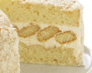 Lemoncello Cream Torte Cake Recipe