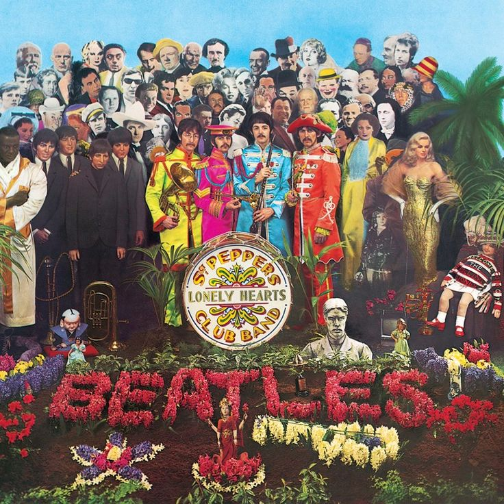 The 50 Greatest Album Covers of All Time | Billboard Best Album Art, Greatest Album Covers, Classic Album Covers, Cool Album Covers, Famous Album Covers, Cover Pics, The Beatles, Beatles Album Covers, Psychedelic Rock
